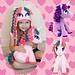 Stuffed Amigurumi Unicorn / Pony Toy pattern