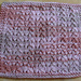 Little Fountain Dishcloth pattern