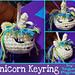 Unicorn Keyring pattern