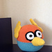 Angry Birds: the space blue angry bird pattern