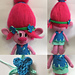 My Poppy troll doll pattern