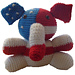 Tuffy, the Republican Elephant pattern