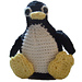 Tux, the Linux Penguin pattern