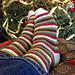 Cozy Striped Socks pattern