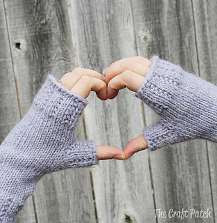 Ravelry: Happy Hands Fingerless Mitts pattern by Jennifer V