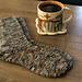 Morning Coffee Socks pattern