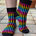 Rainbow Connection Socks pattern