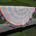 Rainbow Circus Afghan  pattern