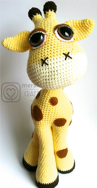 OakesMade's Baby Giraffe Amigurumi - Ravelry | 640x331