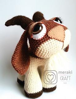 Amigurumi Goat Free Pattern | Goats, Knitting patterns free, Amigurumi | 320x245