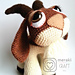 Hopscotch the Goat - Amigurumi pattern