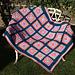 Sea Urchin Granny Square Blanket pattern