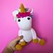 The Friendly Unicorn pattern