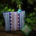 the Mosaic purse pillow pattern
