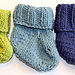 Sweet Cotton Baby Booties pattern