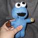 Cookie Monster Peep Amigurumi pattern