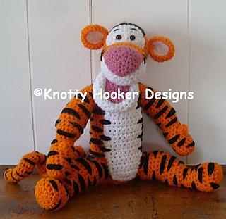 Ravelry: Thomas the Tiger pattern by Jess Huff | 311x320