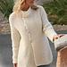 105-28 Jacket in moss st pattern