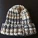 Design F - Ribbed Hat pattern