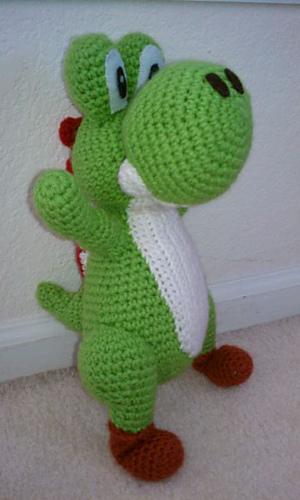 Yoshi Pattern Amigurumi Crochet PDF | Etsy | 500x300