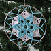 Juletrae Dream Catcher pattern