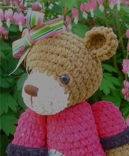 Bear Lollipop Amigurumi pattern by Berrysprite - Ravelry | 320x264