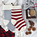 The Country Cottage Stocking pattern