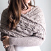 Wrapped Up In Cables Sweater Scarf pattern