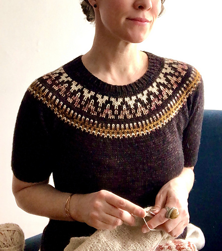 kristine queued Espresso Tee by This.Bird.Knits