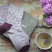 Wildflowers & Honeycomb Socks pattern