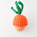 Carrot top egg cosy pattern
