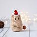 Itty bitty Christmas kitty pattern