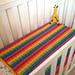 Bumpy Rainbow Blanket pattern