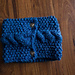 Seeded Cabled Neckwarmer pattern