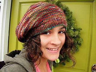 One day Beret Free Pattern