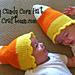 Baby Candy Corn Hat pattern