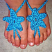 Baby Star Barefoot Sandals pattern