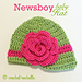 Newsboy Baby Hat pattern