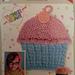Cupcake dishcloth pattern