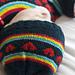 i heart rainbows hat pattern