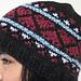 Space Aliens Hide Hearts in Youth Fair Isle Hat pattern