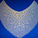 """With or Without"" Shawl pattern"