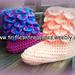 Adult Crocodile Stitch Boots pattern