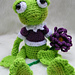 Simply Sweet Frog Toy pattern