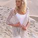 89-26 Wide Crochet Scarf pattern