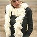 98-12 a - Crochet scarf with lace border pattern