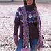 91-1 a - Purple Horizon Sweater pattern
