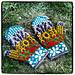 En rêvant de Provence - mittens pattern