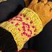 Wrist warmers. pattern