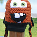 Tow Mater Crochet Pattern from Cars pattern